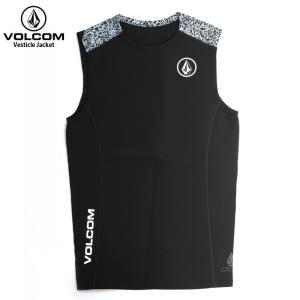 VOLCOM ボルコム メンズ Vesticle Jacket BLK N1811800 ウェットス...