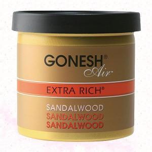GONESH/ガーネッシュ(エクストラリッチ サンダルウッド ゲルエアフレッシュナー)|eshop