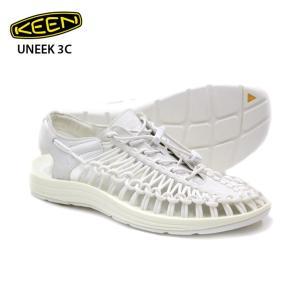 送料無料 KEEN キーン ユニーク スリーシー UNEEK Monochrome Star White サンダル 正規品|eshop