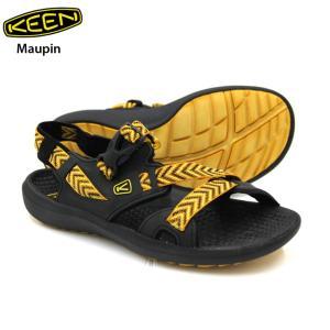 送料無料 KEEN キーン マーピン Maupin Black/Golden Yellow サンダル 正規品|eshop