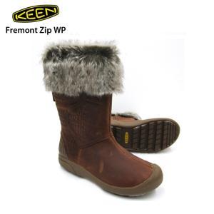 KEEN キーン Fremont Zip WP Whiskey フリモント ジップ WP カジュアル ウィンターブーツ レディース|eshop