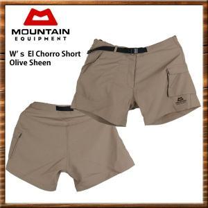 MountainEquipment マウンテンイクイップメント W's El Chorro Short  Olive Sheen/422472|eshop