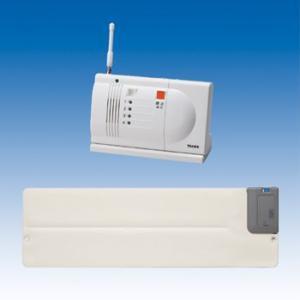 竹中エンジニアリング ワイヤレス 徘徊お知らせ起き上がりくん(離床センサー) 卓上型受信機セット HW-BS3(T) TAKEX|eshopmtc
