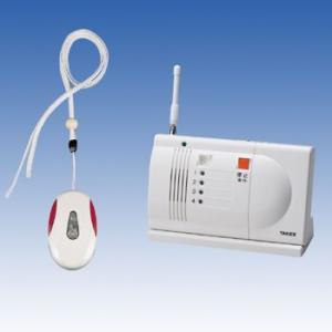 竹中エンジニアリング 緊急呼出しセット ペンダント型送信機・卓上型受信機セット EC-1P(T) TAKEX|eshopmtc