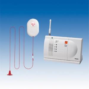 竹中エンジニアリング 緊急呼出セット(ワイヤレス100m) トイレ・浴室用送信機・卓上型受信機セット EC-B(T) TAKEX|eshopmtc