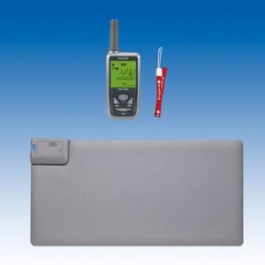 竹中エンジニアリング ワイヤレス 徘徊お知らせお待ちくん(離床センサー) 携帯型受信機セット HW-M48(KE) TAKEX|eshopmtc