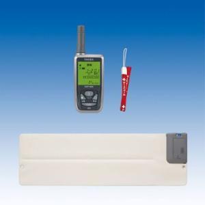竹中エンジニアリング ワイヤレス 徘徊お知らせ起き上がりくん(離床センサー) 携帯型受信機セット HW-BS3(KE) TAKEX|eshopmtc