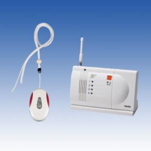 竹中エンジニアリング 緊急呼出しセット ペンダント型送信機・卓上型受信機セット ECS-1P(T) TAKEX|eshopmtc