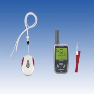 竹中エンジニアリング 緊急呼出しセット ペンダント型送信機・携帯型受信機セット ECS-1P(KE) TAKEX|eshopmtc