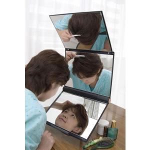 卓上型スタンド付三面鏡セイルミラー【MX-360ZS】三面鏡 送料代引き手数料無料|eshopmtc|02