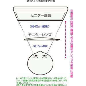 パソコン用ルーペ モニターレンズ ML-4000A 非球面ワイドレンズ使用 eshopmtc 04