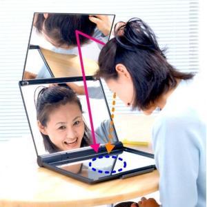 三面鏡 卓上式三面鏡スリーウェイミラー A4-M6|eshopmtc|03