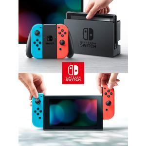 任天堂 Nintendo Switch Joy-Con(L) ネオンブルー/(R) ネオンレッド  ...