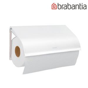 【brabantia】 ブラバンシア キッチンロールホルダー [ホワイト] 壁付けタイプ|esmile-y