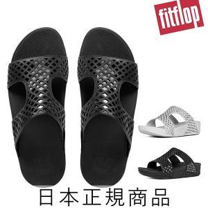 [サマーセール]【fitflop】 フィットフロップ SAFI SLIDE (サフィー スライド)|esmile-y