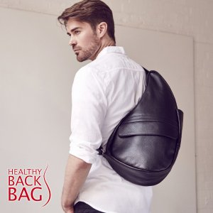 【Healthy Back Bag】 ヘルシーバックバッグ レザー Mサイズ - Leather M -|esmile-y