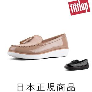 【fitflop(フィットフロップ)】 PAIGE FAUX-PONY MOCCASSIN (ページ...