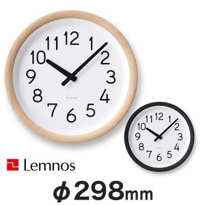 【Lemnos】 レムノス Day To Day Clock (PIL12-10) esmile-y