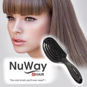 NuWayDoubleC Pro NuWay4HAIR ニューウェイ ダブルシープロ ニューウェイフォーヘアー ヘアブラシ 正規品|esmile-yh
