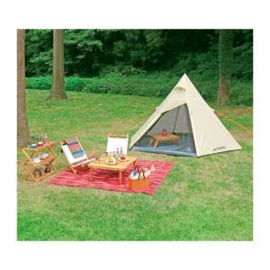 テント キャンプ アウトドア キャンプ用品 ティピー型ワンポールテント 3〜4人用 esndirect