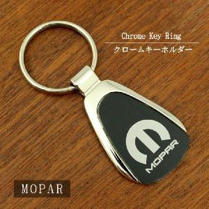 MOPAR モパー キーホルダー クロームブラック|esound