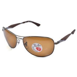 レイバン サングラス Ray-Ban ポラライズドブラウン UVカット 偏光レンズ 59サイズ 正規...