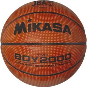 MIKASA(ミカサ) バスケットボール 検定球5号 ミニバスケットボール 人工皮革 ディンプル BDY2000 バスケットボール 5号 小学生 ミニバス
