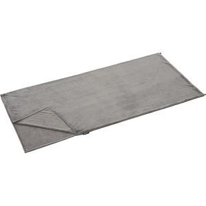 寝袋の中をふっくらと暖かく優しい寝心地に。夏場はこれ1つでもOK!■「やわらかフランネル」という素材...