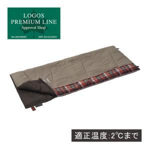 ロゴス(LOGOS) キャンプ 寝袋 丸洗い スランバーシュラフ 2 72602010 シュラフ 車...