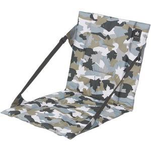 ロゴス(LOGOS) デザインロールアップチェア(カモフラ) 73173054 アウトドア キャンプ イス 座椅子 ピクニック|esports