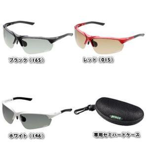 プリンス(Prince) テニス用 サングラス (調整機能付き 調光 偏光) (専用セミハードケース付き) PSU233 アクセサリー