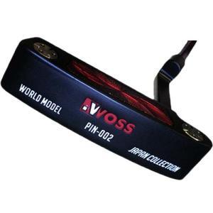 ウォズ(WOSS) ワールドモデルパター ブラック 34インチ 002BK メンズ ピン型 ゴルフクラブ