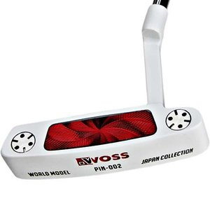ウォズ(WOSS) ワールドモデルパター ホワイト 34インチ 002WH メンズ ピン型 ゴルフクラブ
