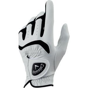 キャロウェイ(Callaway) メンズ ゴルフグローブ オールウェザー ALL WETHER 左手装着用 ホワイト GL CG ALL WEATHER LH WHT 18 JM ゴルフ用品 手袋