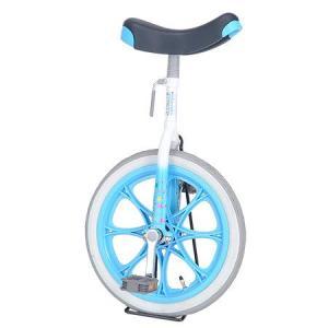 ユニサイクル 子供用 一輪車 16インチ ブルー 4904 サイクル 学校 体育 キッズ バランス|esports