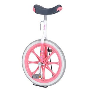 ユニサイクル 子供用 一輪車 14インチ ピンク 4900 サイクル 学校 体育 キッズ バランス|esports