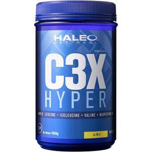 ハレオ(HALEO) C3X ハイパー 1000g レモン 336836 サプリメント BCAA ロイシン アミノ酸 筋力 持久力 esports