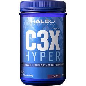 ハレオ(HALEO) C3X ハイパー 1000g グレープ 336843 サプリメント BCAA ロイシン アミノ酸 筋力 持久力 esports