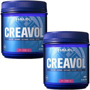 ハレオ(HALEO) クレアボル グレープフルーツ味 450g 2個セット [アミノ酸サプリメント][クレアチン][瞬発力サポート] 筋力系 esports