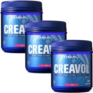 ハレオ(HALEO) クレアボル グレープフルーツ味 450g 3個セット アミノ酸サプリメント esports
