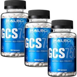 ハレオ(HALEO) GCS750 198カプセル 3個セット カーボローディング/ダイエット esports