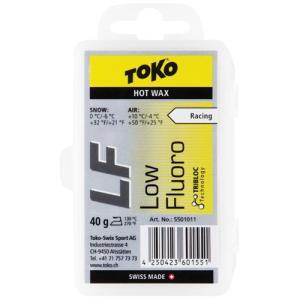 トコ(TOKO) LF イエロー 40g スキーワックス 5501011 ワックス チューンナップ ケアプロダクト ボードワックス esports