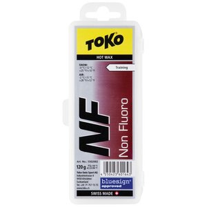 トコ(TOKO) NF レッド 120g スキーワックス 5502002 ワックス チューンナップ ケアプロダクト ボードワックス esports