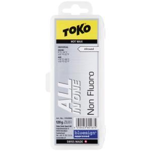 トコ(TOKO) NF オールインワンワックス 120g スキーワックス 5502006 ワックス チューンナップ ケアプロダクト ボードワックス esports