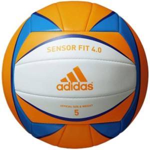 アディダス(adidas) センサーフィット4.0 AV516OR バレーボール 5号 一般 大学 高校用|esports