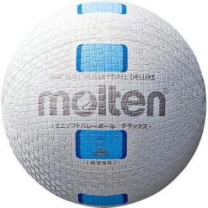 モルテン(molten) ミニソフトバレーボールデラックス 白シアン S2Y1500-WC バレーボール 小学生用 公認球|esports