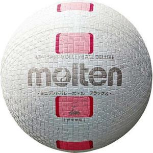 モルテン(molten) ミニソフトバレーボールデラックス 白ピンク S2Y1500-WP バレーボール 小学生用 公認球|esports