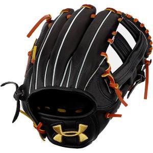 アンダーアーマー(UNDER ARMOUR) メンズ DL 硬式野球 内野手用グラブ 右投用 ブラッ...