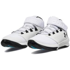 アンダーアーマー(UNDER ARMOUR) メンズ バスケットボールシューズ UA GET B ZEE SYN WHT/WHT/BLK 3000388 100 バッシュ 靴|esports