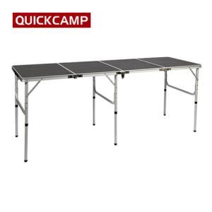 アウトドア 折りたたみテーブル 180×60cm 四つ折り ロングテーブル モダンブラウン AL4FT-180 長机 折り畳み アウトドア テーブル テーブル キャンプ イベント|esports